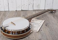 banjo - stock photo