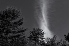 Beckoning Winter Sky Stock Photos