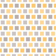 Soft different vector seamless pattern (tiling). Endless texture - stock illustration