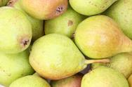Stock Photo of heap of ripe pears