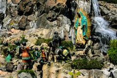 Virgen de Guadalupe Stock Photos