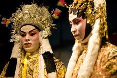 Chinese opera dummy Stock Photos