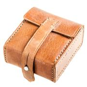 Leather pouch Stock Photos