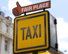 Taxi Cartel - stock photo