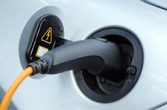 Charging socket of an electric car Kuvituskuvat