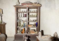 Antique wardrobe Stock Photos