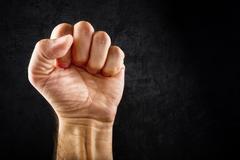 Riot protest fist Kuvituskuvat