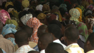 Stock Video Footage of Congregation listens to preacher, Nigerian mega church