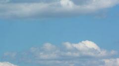 Formation of Cumulonimbus clouds - stock footage