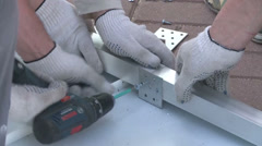 electric screwdriver - stock footage