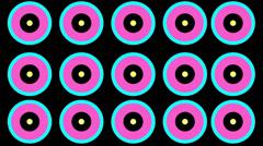 Color Circle Beats - stock footage