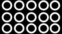 Circle Beats Stock Footage