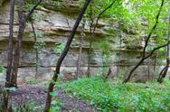 Stock Photo of Sandstone Overhang