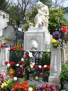 A frederik Chopin grave Stock Photos