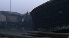Dusk in Makoko Stock Footage