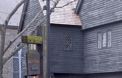 Witch house in salem, ma, usa Stock Photos