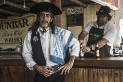 Marelli, province maldonado, uruguay - nov 18: gaucho en fiesta de la tradici Stock Photos
