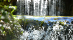 Pure water mountain Stock Footage