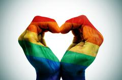 Gay love Stock Illustration