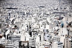 Greece, Attica, Athens, Cityscape - stock photo