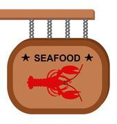 Lobster cartel Stock Illustration