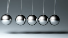 Newton's cradle - stock footage