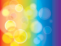 Stock Illustration of abstract rainbow background