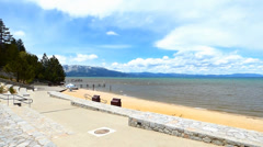 South Lake Tahoe Park Stock Footage