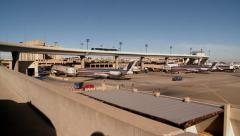 Dallas Fort Worth DFW Airport Stock Footage