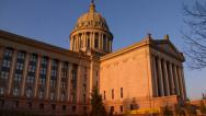 Stock Video Footage of Oklahoma State Capitol