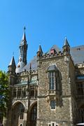 Aachen City Hall - stock photo