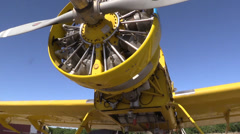 Stock Video Footage of California Farming,  Crop duster