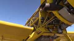 California Farming,  Crop duster , mechanic Stock Footage
