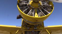 Stock Video Footage of California Farming,  Crop duster maintenance
