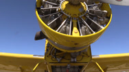Stock Video Footage of California Farming,  Crop duster maintenance