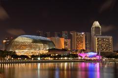 Esplanade Singapore Stock Photos