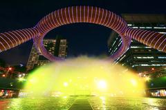 Fountain of Wealth Singapore - stock photo