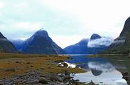 Stock Photo of milford sound New Zealand