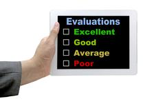 Performance Evaluation Audit Checklist Stock Photos