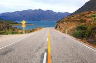 Stock Photo of Highway New Zealand
