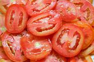 Stock Photo of Fresh Sliced Tomato