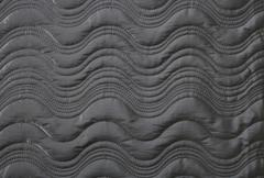 Stock Photo of Black Wavy Cloth Texture