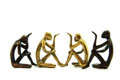 Human Brass Ware Stock Photos