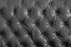 Stock Photo of black genuine leather