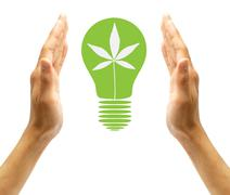 Stock Photo of environmental concept renewable energy