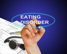 Eating disorder Stock Illustration