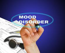 mood disorder - stock illustration