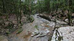 Mountain stream Stock Footage
