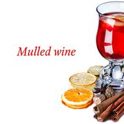 Mulled wine with apples Stock Illustration