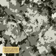 Grunge retro vintage texture, vector background Stock Illustration